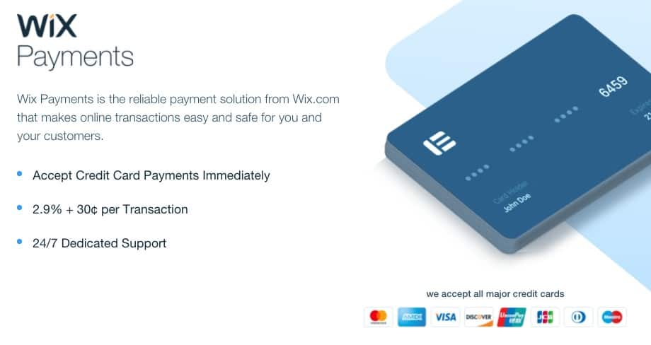 wix payment